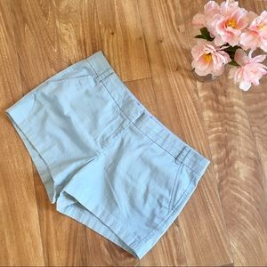"J Crew Sky Blue Shorts Size 12 4"" Inches"